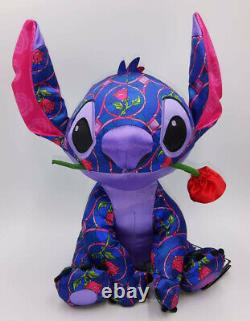 2021 DISNEY Stitch Crashes Beauty And The Beast Plush Limited Release! BNWT 1/12