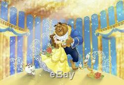 368x254cm Wall mural Wallpaper Disney character Beauty and the Beast kids room
