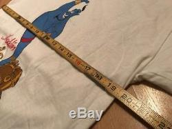 Aladdin GENIE Disney Shirt Large vtg lion king robin williams beauty beast