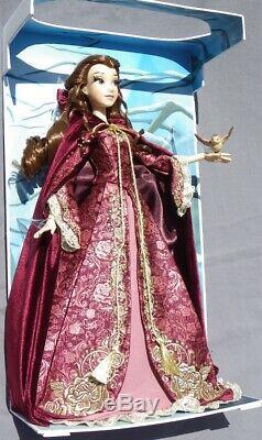 BELLE Winter Beauty and the Beast LE poupée DISNEY édition limitée 5000 ex NRFB
