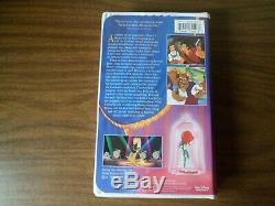 Beauty And The Beast 1992 VHS Tape Walt Disney's Black Diamond Classic 1325-RARE