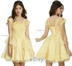 Beauty And The Beast Belle Ball Gown Disney Hot Topic Exclusive Fashion Line