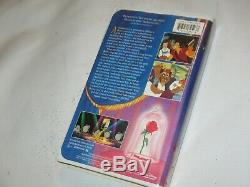 Beauty And The Beast Black Diamond The Classics Disney VHS Christmas Lead 1992