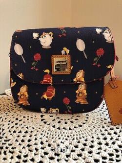 Beauty And The Beast Crossbody Bag By Dooney & Burke- Disney NWT