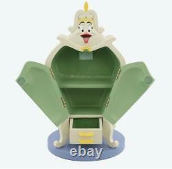 Beauty And The Beast Wardrobe Accessory Case Figure Tokyo Disney Limited 20cm