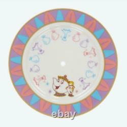 Beauty & The Beast Cake Stand Plate Tokyo Disney Resort New Area 2020 Limited FS