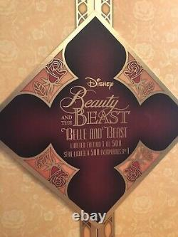 Beauty and The Beast Disney Limited Edition Platinum Doll Set 17 Inch LE 500