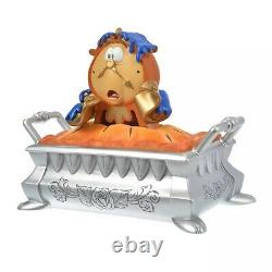 Beauty and the Beast Cogsworth Accessary Case Ornament Figure Disney Store