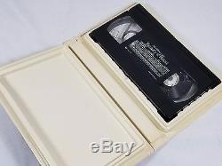 Beauty and the Beast Disney VHS BLACK DIAMOND 1325 RARE