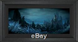 Beauty and the Beast Shadows of Beast's Castle LE 250 Disney Concepts Framed