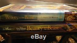 Beauty and the Beast (VHS, 1992) Walt Disney's Black Diamond Classic