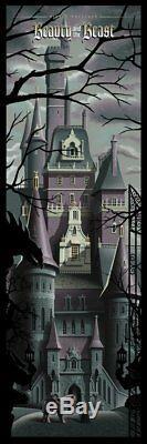Beauty and the Beast by JC Richard Ltd Ed of 225 Original Disney, no Mondo