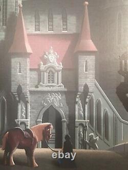 Beauty and the beast Mondo Poster By JC Richard Walt Disney Cyclopes