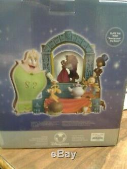Beauty and the beast disney musical snow globe. Plays beauty and the beast