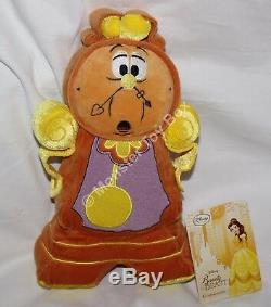 Beauty & the Beast Plush Fifi Lumiere Cogsworth Potts Chip Disney Store New