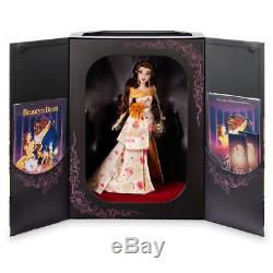 Belle Beauty Beast Disney Designer Collection Premiere Series Doll LE 4500