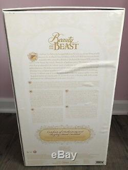 Belle Beauty & The Beast LE 5000 17 Collector Doll Disney Store NIB