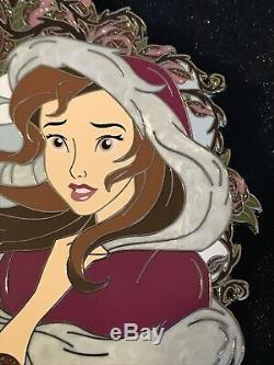 Belle Longing Disney Fantasy Pin Beauty And The Beast LE