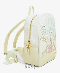 Brand New Disney X Loungefly Beauty and the Beast Ballroom Sketch Mini Backpack