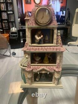 DISNEY CLASSICS BEAUTY AND THE BEAST MAGIC MOMENTS IN TIME Clock Tower 11x6