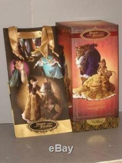 DISNEY FAIRYTALE DESIGNER COLLECTION BELLE & THE BEAST BEAUTY DOLLS With GIFT BAG