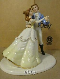 DISNEY TRUE LOVE'S DANCE Beauty and The Beast / Prince LENOX Collectible Figure