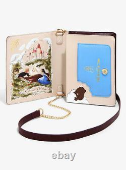 Danielle Nicole Beauty and the Beast Story Book Crossbody Bag NEW