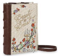 Danielle Nicole Disney Beauty & the Beast Belle Crossbody Bag & Loungefly Wallet