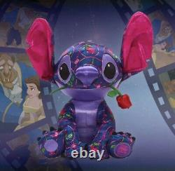 Disney 2021 Stitch Crashes Plush Beauty and the Beast! January IN HAND SHIPS NOW