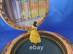 Disney BEAUTY & THE BEAST BELLE MUSIC BOX -VINTAGE EXCELLENT CONDITION
