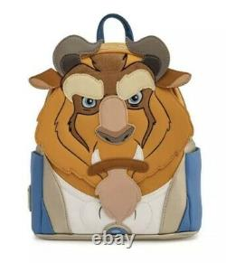 Disney Beast Loungefly Funkon 2021 Exclusive Mini Backpack IN HAND SHIPS FAST