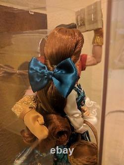 Disney Beauty And The Beast Belle Gaston Fairytale Limited Edition Doll In Hand