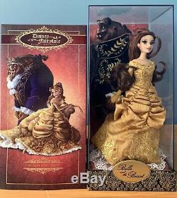 Disney Beauty And The Beast Fairytale Designer Collection Limited Edition #740