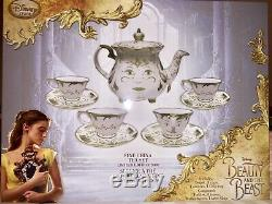 Disney Beauty And The Beast Live Action Mrs Potts Tea Set LE Limited Edition