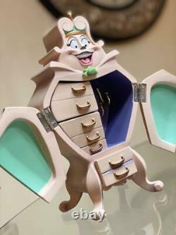 Disney Beauty And The Beast Wardrobe JEWELRY BOX NEW IN BOX FREE SHIPPING