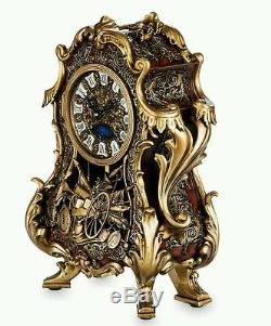Disney Beauty & The Beast Live Action Movie Limited Edition Cogsworth Clock