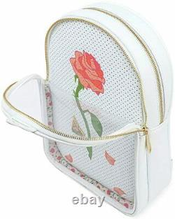 Disney Beauty & The Beast Pin Trader Convertible Backpack