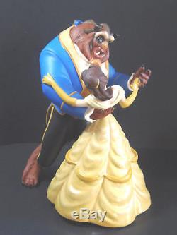 Disney Beauty and The Beast Belle Tale As Old As Time COA Dance Figure, WDCC