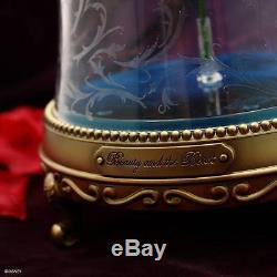 Disney Beauty and The Beast Enchanted Rose Bluetooth Speaker LED Light Camino