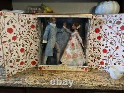 Disney Beauty and The Beast LIVE ACTION PLATINUM DOLL SET BELLE & PRINCE LE 500