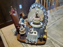 Disney Beauty and the Beast Be Our Guest Snowglobe very rare no box