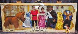 Disney Beauty and the Beast Belle Gaston Deluxe Classic Doll Gift Set NEW