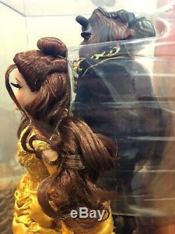 Disney Beauty and the Beast & Belle fairytale designer limited edition LE doll