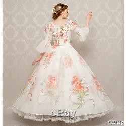 Disney Beauty and the Beast Cosplay ED dress for ladies Japan secret honey