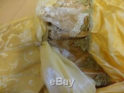 Disney Beauty and the Beast Cosplay dress Woman secret honey Japan