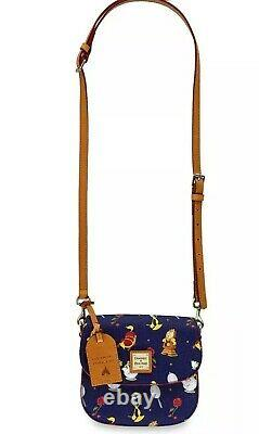 Disney Beauty and the Beast Crossbody Bag Purse Purse by Dooney & Bourke