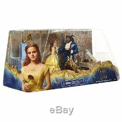 Disney Beauty and the Beast Deluxe Set of 5 Figures Figurine Set Genuine New 3+