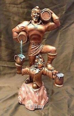 Disney Beauty and the Beast Gaston Big Fig statue figure Villains