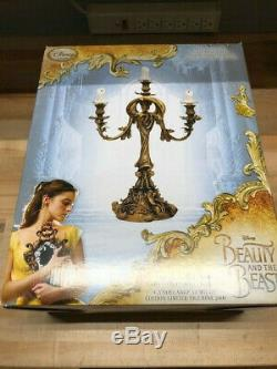 Disney Beauty and the Beast Live Action LE Lumiere Candelabra Limited Edition