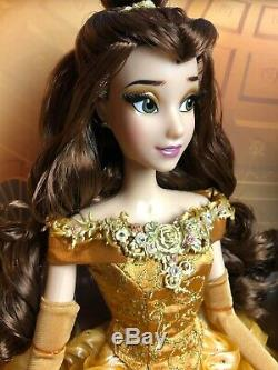 Disney Beauty and the Beast Platinum Belle 17 Limited Edition Doll Set NIB